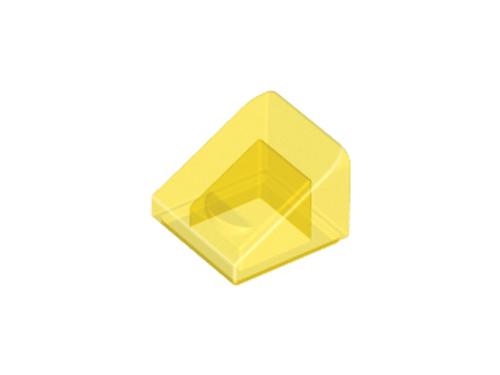 Slope 30 1x1 2/3 (Trans Yellow)