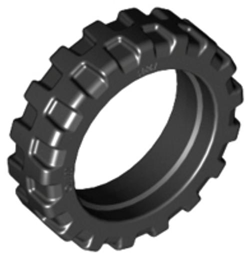 Tyre 21mm D. x 6mm City Motorcycle (Black)