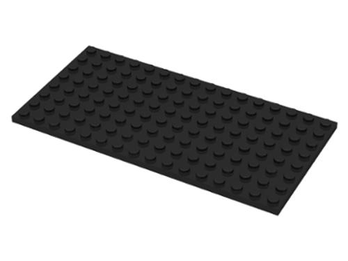 Plate 8x16 (Black)