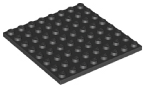 Plate 8x8 (Black)