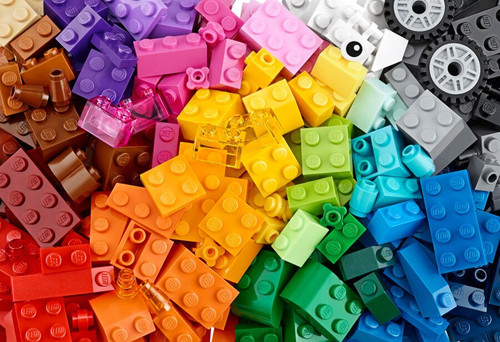 250 Mixed LEGO Bricks