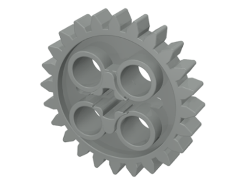 Technic, Gear 24 Tooth (Dark Bluish Gray)
