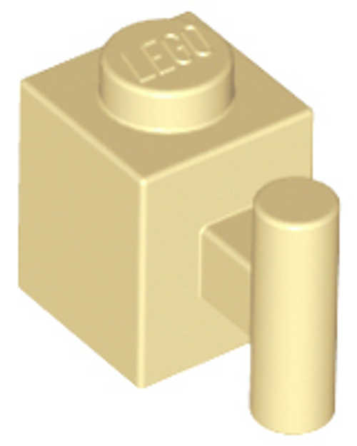 Brick, Modified 1x1 with Handle (Tan)