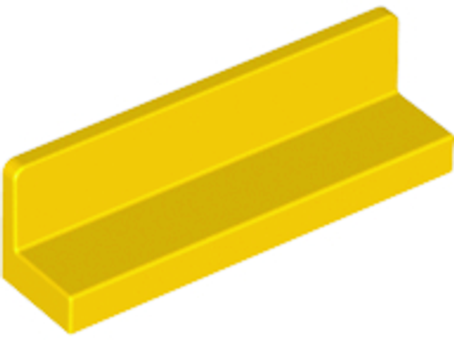 Panel 1x4x1 (Yellow)