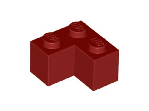 Brick 2x2 Corner (Dark Red)
