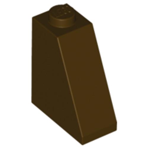 Slope 65 2x1x2 (Dark Brown)