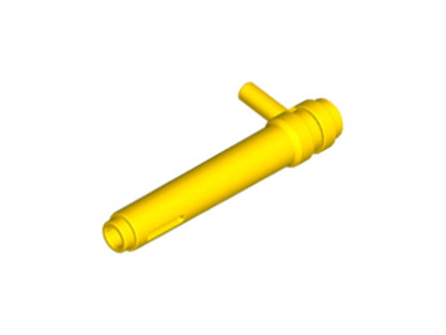 Cylinder 1x5 1/2 with Handle (Friction Cylinder) (Yellow)
