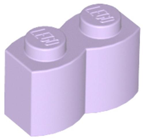 Brick, Modified 1x2 Log Palisade (Lavender)