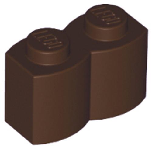 Brick, Modified 1x2 Log Palisade (Dark Brown)