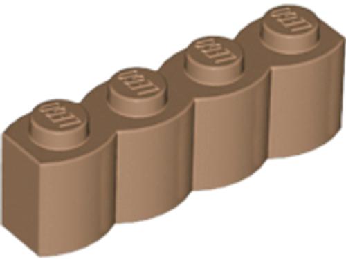 Brick, Modified 1x4 Log (Medium Nougat)