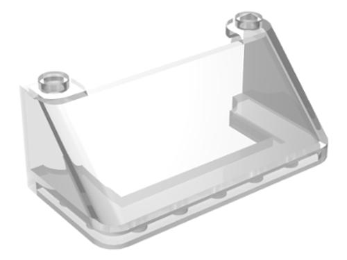 Windscreen 3x6x2 (Trans Clear)