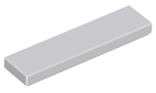 Tile 1x4 (Light Bluish Gray)