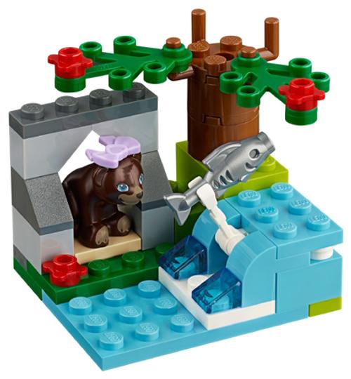 Friends - Brown Bear's River Polybag (41046)