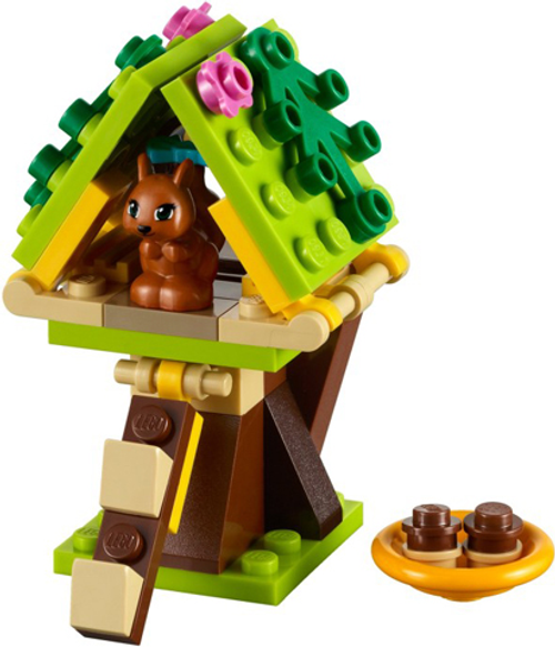 Friends - Squirrel's Tree House Polybag (41017)