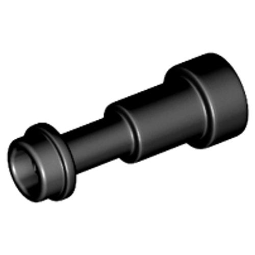 Minifigure, Utensil Telescope (Black)