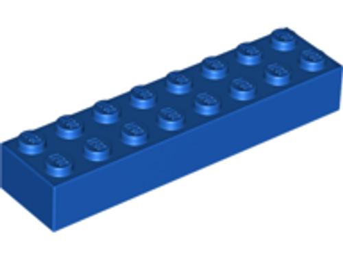 Brick 2x8 (Blue)