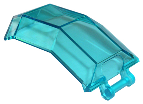 Windscreen 4x4x4 2/3 with Handle (Trans Light Blue)