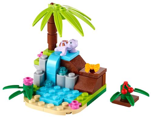 Friends - Turtle's Little Paradise Polybag (41041)