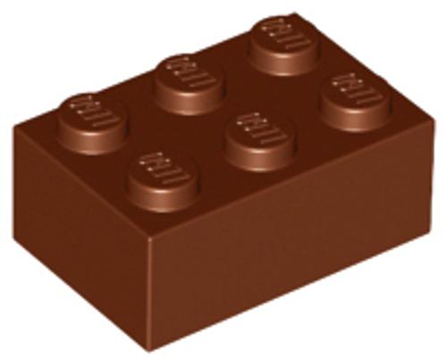 Brick 2x3 (Reddish Brown)