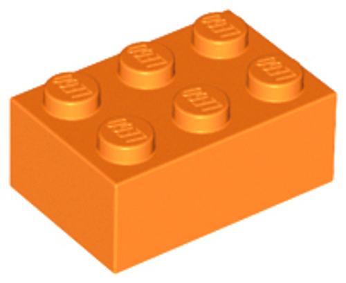 Brick 2x3 (Orange)