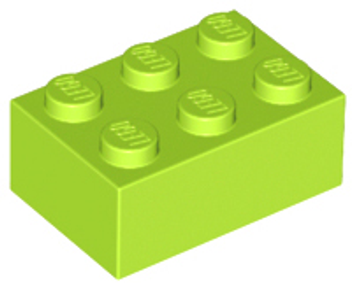 Brick 2x3 (Lime)