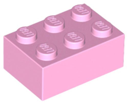 Brick 2x3 (Bright Pink)