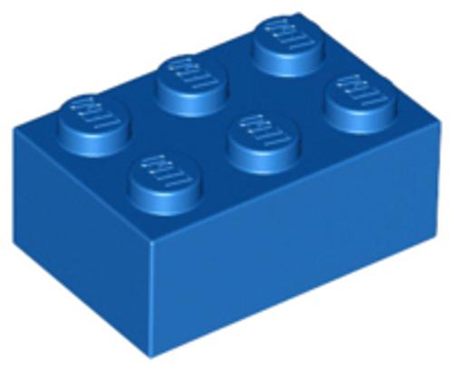 Brick 2x3 (Blue)
