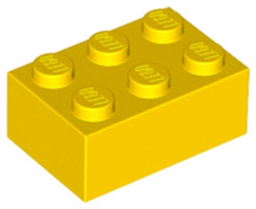 Brick 2x3 (Yellow)