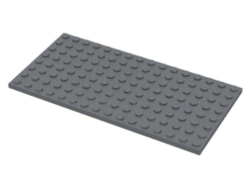 Plate 8x16 (Dark Bluish Gray)