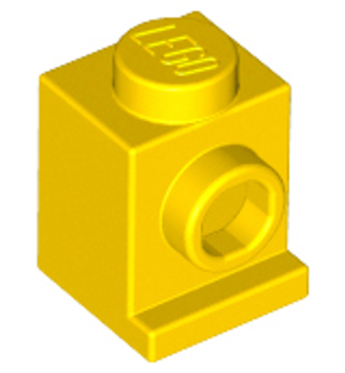 Brick, Modified 1x1 with Headlight (Yellow)