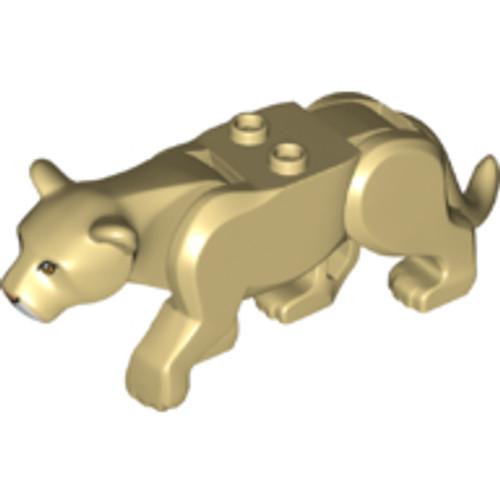Cat, Large (Lioness) - Tan