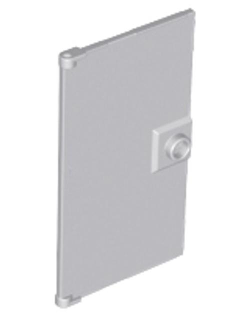 Door 1x4x6 with Stud Handle (Light Bluish Gray)