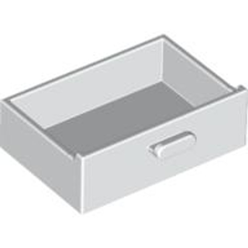 Container, Cupboard 2x3x1 Drawer (White)