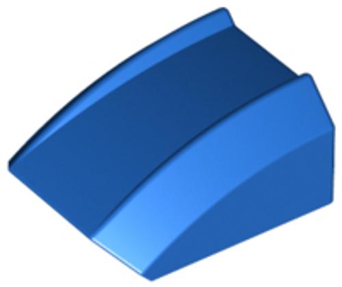 Slope, Curved 2x2 Lip (Blue)