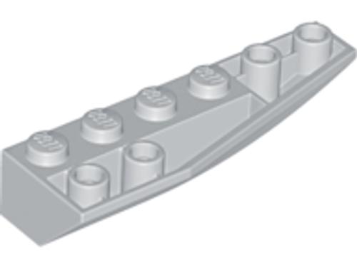 Wedge 6x2 Inverted Right (Light Bluish Gray)