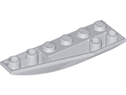 Wedge 6x2 Inverted Left (Light Bluish Gray)
