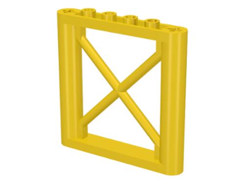 Support 1x6x5 Girder Rectangular (Yellow)