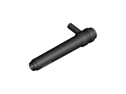Cylinder 1x5 1/2 with Handle (Friction Cylinder) (Black)