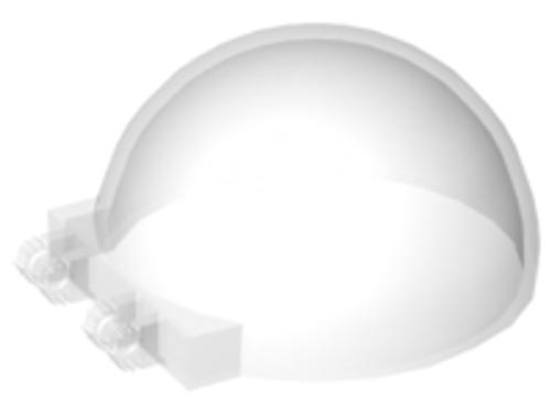 Windscreen 6x6x3 Canopy Half Sphere (Trans Clear)