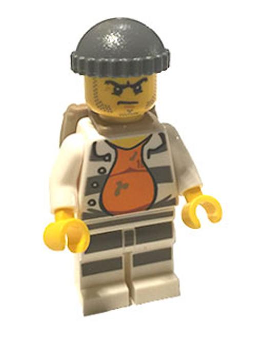 Police - Jail Prisoner 18675, Open Shirt (cty0618)