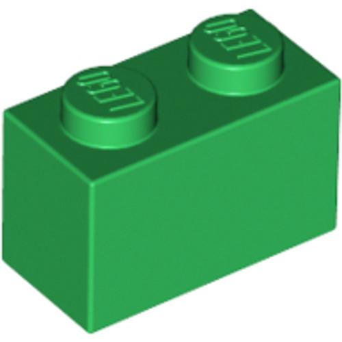 Brick 1x2 (Green)