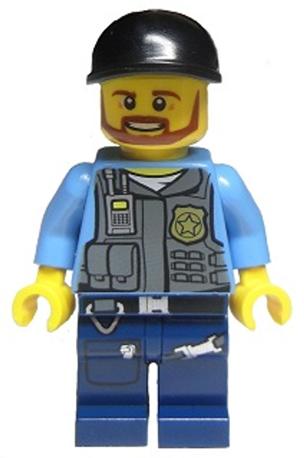 Police City Undercover Elite Police Officer (cty0360)