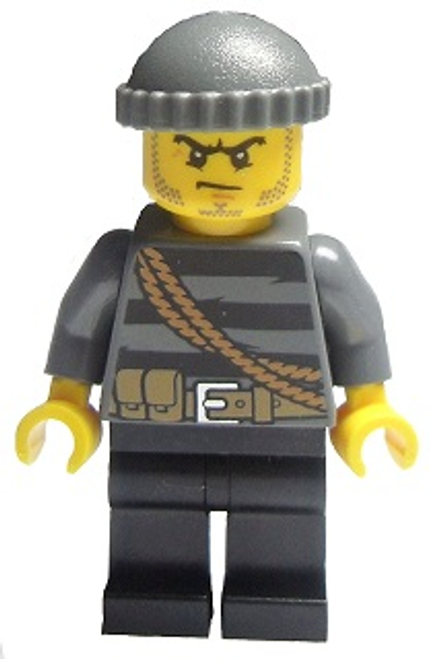Police - City Burglar, Knit Cap (cty0364)