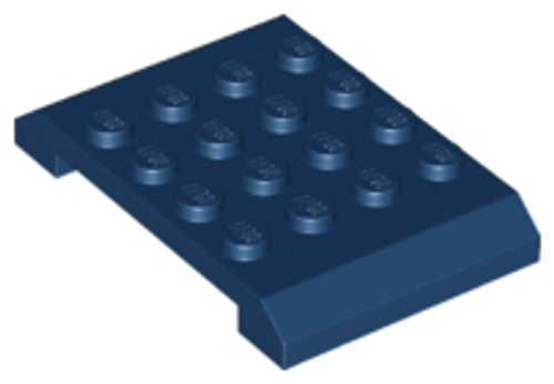 Wedge 4x6 x 2/3 Double (Dark Blue)