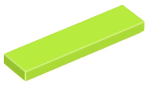 Tile 1x4 (Lime)