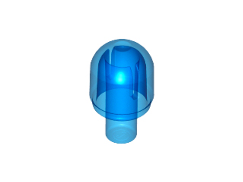 Bar with Light Cover / Bionicle Barraki Eye (Trans Dark Blue)