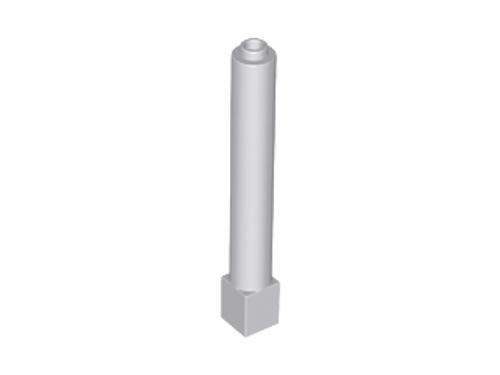 Support 1x1x6 Solid Pillar Column (Light Bluish Gray)