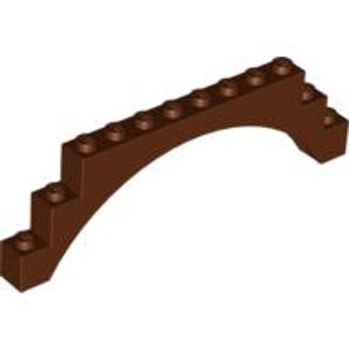 Brick, Arch 1x12x3 (Reddish Brown)