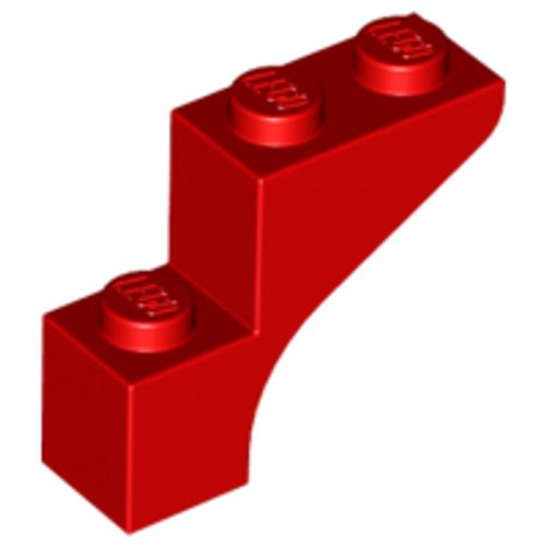 Brick, Arch 1x3x2 (Red)
