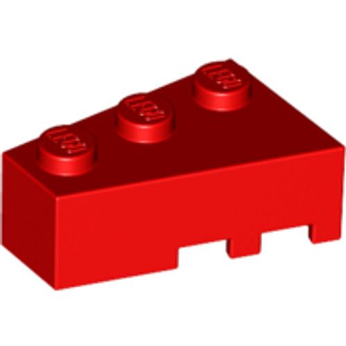Brick, Wedge 3x2 Left (Red)